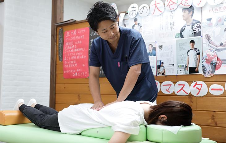 熊本市北区で信頼できるプロの施術をお探しならおかもと弓削整骨院へ